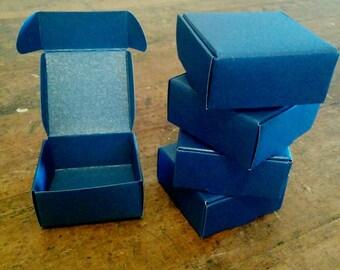 Blue kraft box