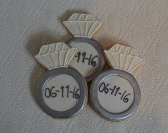 Wedding Ring Cookie