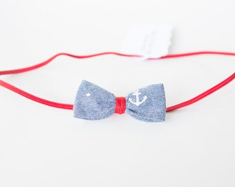 Baby Headband/Newborn Headband/Boho/Baby girl/Blue/Nautical/Baby girl clothes/Bow/Headband/Anchor/Baby girl gift/Baby shower gift/Red