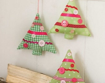 Christmas Tree Decorations Sewing Pattern Download 803091