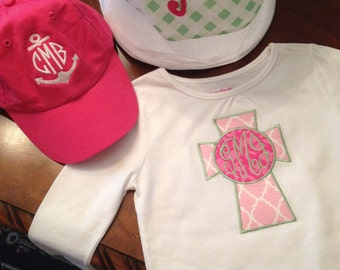 Customized monograms to personalize your child's style