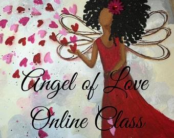 Angel of Love Online Class