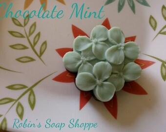Chcolate Minty Flower