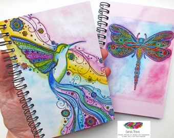 Pocket Notebook - Hummingbird