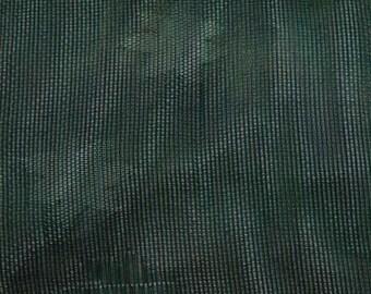 Vintage Japanese Silk Kimono Fabric Green Ro
