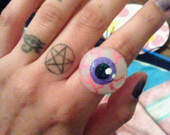 Junkyard Eyeball Ring