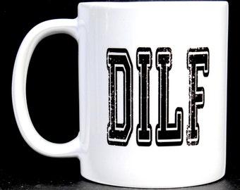new husband gift, gift for new husband, new husband, gift new husband, gifts for him, dilf mug, dilf gift, funny husband gift, funny gift