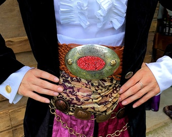 Pirate Gypsy Costume Women's Small/Medium