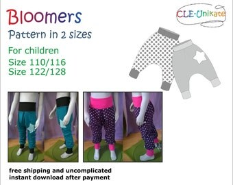 Bloomers, size 110/116 and 122/128
