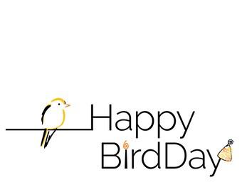 Happy Birdday Cards (Set of 12)