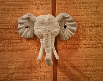 Elephant Hook, Cast Iron Elephant Hook, Jungle Hook, Jungle Nursery, Zoo, Safari, Nursery, Hook, Towel Hook, Coat Hook, Elephant, Zoo Decor