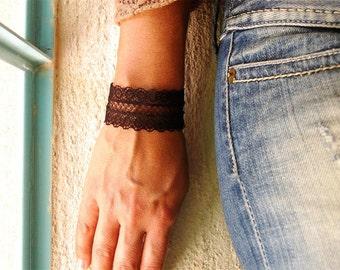 Black Lace bracelet