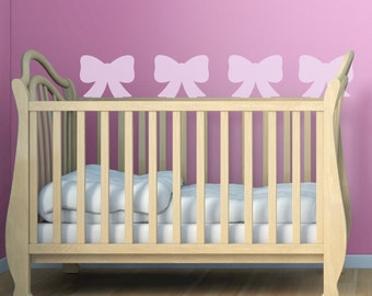 Bow  Wall Stencil, Wall Art Stencil  in reusable Mylar, wall art, small to large stencils up to 19.5 x 27.5 inches.