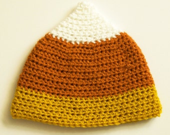 Candy Corn Crochet Hat | Fall Beanie | Baby Photo Prop
