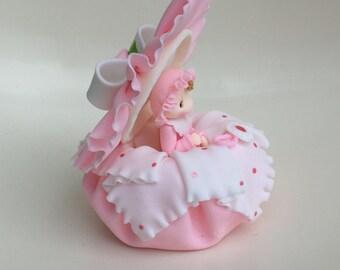 Baby Shower Cake Topper. Baby Girl.