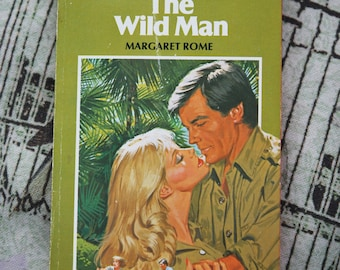 1980s Harlequin Romance #2428 The Wild Man by Margaret Rome paperback book