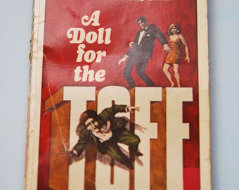 1960s John Creasey A doll for the Toff paperback book