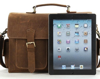 Leather Macbook Sleeve, Macbook Air case, Macbook Pro Sleeve, Macbook 11 / 12  Sleeve, Laptop Sleeve, Laptop Messenger Bag,519