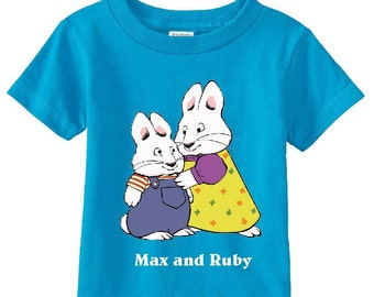 Max and Ruby Custom t-shirt (Different Colors)