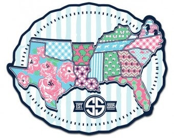 Simply Southern- South  - Decal