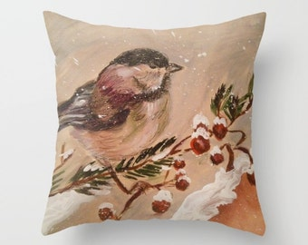 Nuthatch Pillow