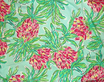 Lilly Pulitzer signature fabric  Spike the Punch 18 X 18 inches