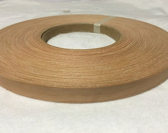 "Birch Maple red oak mahogany pre glued ( 3""to 7""x250' wood veneer"