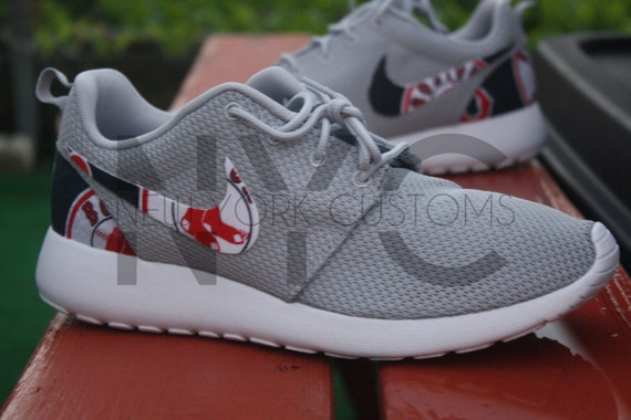 red sox nike sneakers