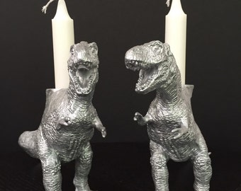 Dinosaur Candlesticks: T-Rex