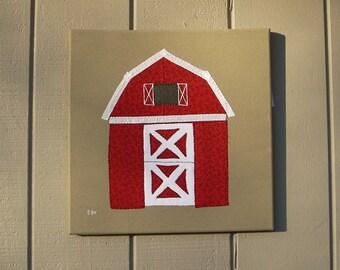 Barn #1 Fabric Wall Art