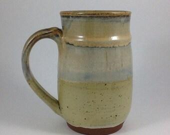 Extra Large Mug.  Pottery Mug,  Handmade Stoneware Mug, Large Beer Mug, Unique Gift, 34 ounce Mug