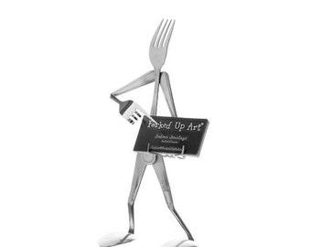 Business Card Holder Functional Fork