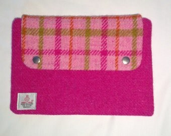 Harris Tweed tablet cover, iPad mini cover, Kindle HD cover
