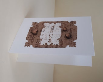 Small 'With Love' Card