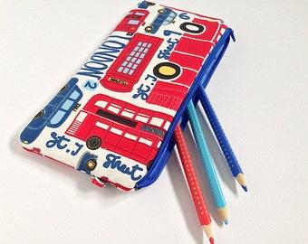 Case LONDON, case, bag, fabric London, fun box, original case, bag fabric, padded bag, small bag, gift
