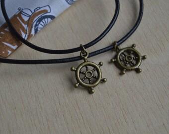 Pendant and bracelet rudder