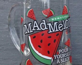 DeKuyper Mad Melon Pitcher~1 1/2 Quarts~1996