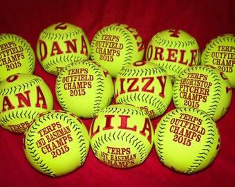 Set of team balls - MINIMUM of 10