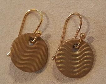 Small Bronze Earrings