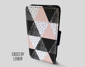 GEOMETRIC Case For Samsung Galaxy S6 Edge Wallet Case For Samsung Galaxy S6 Edge Leather Case For Samsung Galaxy S6 Edge Leather Wallet