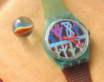 Vintage 1995 Swatch Quartz Watch