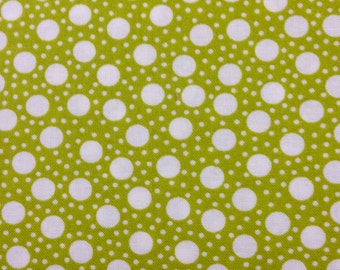 Hometown Girl Print Quilt Clover Dots  by Pat Sloan for Moda 43065 19 Half Yard Cut and Yardage Available