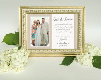 Thank You Parents Wedding Gift - Parents Thank You gift Wedding, Gift for Parents of the Bride, Parents of the Groom gift