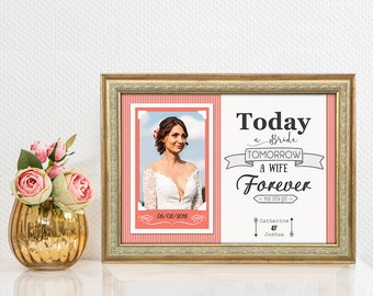 Mother of the Bride Gift - Mother of the Groom gift, Mother of the Bride Frame, Thank you Mom, Mother In Law Gift