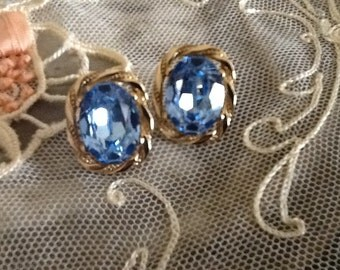 Gorgeous Vintage Givenchy Pierced Earrings