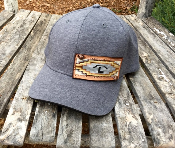 Jll Design What To Do With Your Ranch: Hand Beaded Baseball Cap With Your Ranch Brand Custom