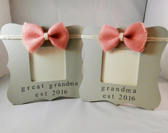 Grandma gift, gifts for new grandparents, expecting announcement, memaw mawmaw nanny gift