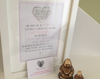Lost In A Book - A Fairytale Welcome/A Christening Tale