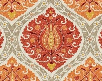 Patara Pomegranate, Designer Fabric, Fabric By The Yard