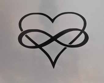 Window Decal, Polyamory, ST-043a